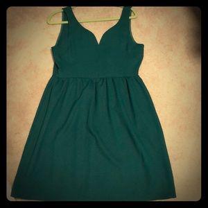 Green Everly dress